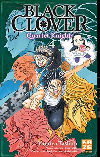 Black Clover - Quartet Knights Edition simple Tome 4