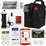 Everlit Emergency Survival Trauma Kit with Tourniquet 36' Splint, Military...