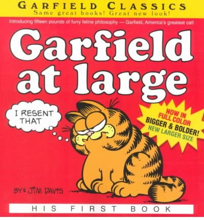 By Jim Davis ( Author ) [ Garfield at Large: His 1st Book Garfield (Numbered Paperback) By May-2001 Paperback