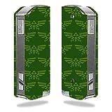 Decal Sticker Skin WRAP Triforce Green for Pioneer4you iPV Mini 2 70W