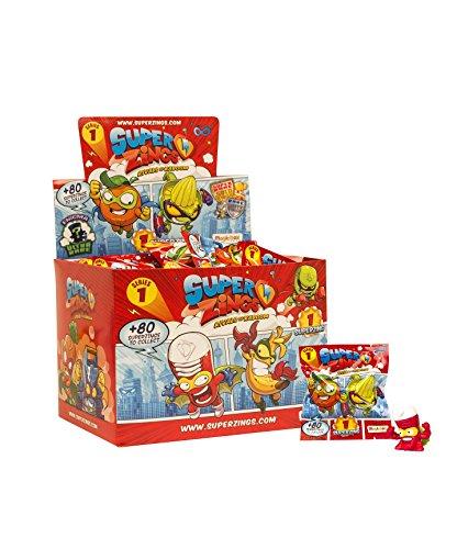 SuperZings - Serie 1 - Rivals of Kaboom: Display de 50 Figuras Coleccionables (PSZ1D850IN06), con 1 Figura en cada Sobre