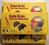 ginkgo biloba e rosso panax ginseng estratto (tre pacchetti)
