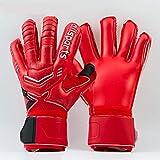 gloves Fußballspiel-Trainingshandschuhe/Torwarthandschuhe für Erwachsene/Kinderhandschuhe aus Latex, Größe: 7 Anzahl: 17-18 cm