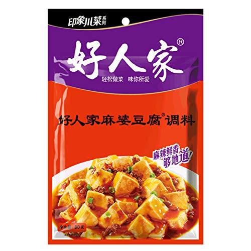 OuYang Hengzhi Spicy and Hot Mapo Tofu Seasoning Ma Po Dou Fu Tiao Liao 麻婆豆腐调料 400g/14.11oz