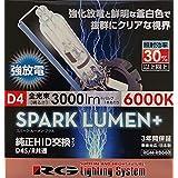 RACING GEAR RGH-RB860 SPARK LUMEN+ D4S/Rバルブ 6000K/3000lm