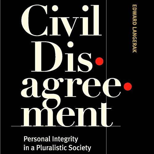 Civil Disagreement Audiobook By Edward Langerak cover art