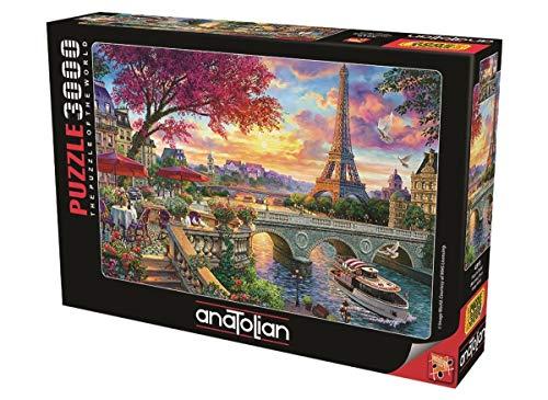 Anatolian Puzle de 3000 piezas, diseño de primavera en París