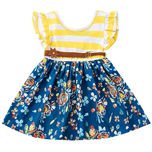 Julhold kleine kinderen pasgeborenen meisje zomer dagelijks vrije tijd prinses bloemenprint tutu outfits set 2019 1-6 jaar