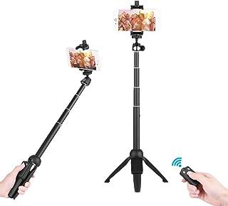 YUNTENG YT-9928 2-in-1 Mini Desktop Tripod Selfie Stick with Phone holder Remote Controller Max. Load 0.22kg