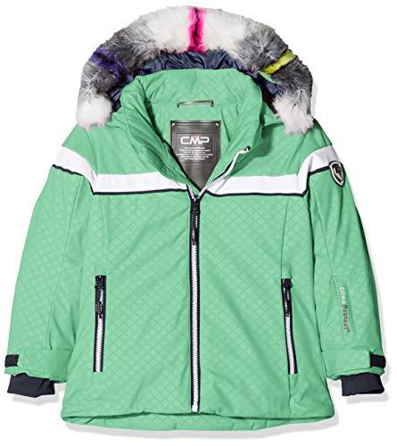 CMP Mädchen Wattierte 7000 Eco Fur Skijacke Jacke, Ice Mint, 176