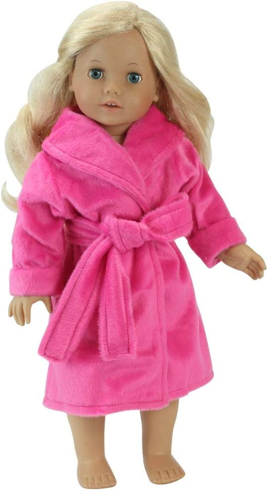 18 Inch Doll Robe in Hot Fits Ame Made Selling by Pink San Francisco Mall Sophia's