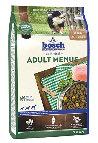 bosch HPC Adult Menue   Kroketten-Mix für ausgewachsene Hunde aller Rassen   1 x 3 kg