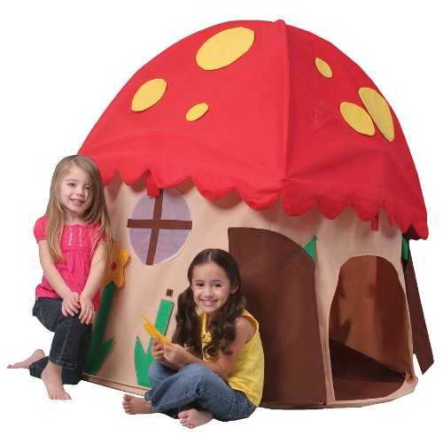 Bazoongi Unisex's Play Structure Mushroom House, Multi-color, One size
