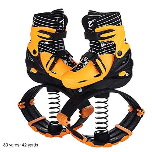YXRPK Jumps Sprünge Fitness Schuhe Rebound Kinder Springen Stelzen Shadow Hüpfschuhe Maximale Tragfähigkeit 80 Kg Steigern Sie Die Intramuskuläre Kraft,M