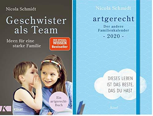 """artgerecht-Set: """"Geschwister als Team"""" + """"artgerecht - Der andere Familienkalender 2020"""""""