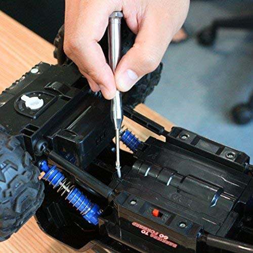 MulWark 6pc Magnetic Mini Flathead and Phillips Micro Precision Head Small Screwdriver Set CRV Eyeglasses Watches Electronics Computer Tools Repair Kit