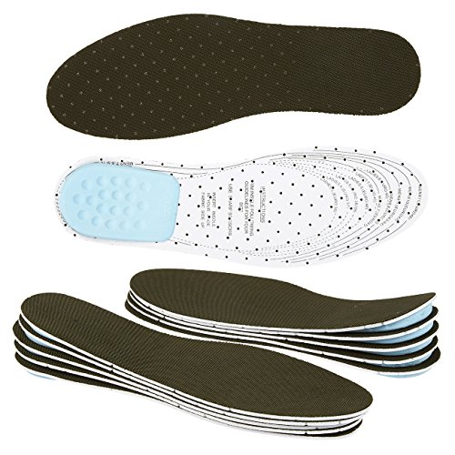 Pack of 12 Height Increase Insoles - DIY Customizable Fabric Odor Control Shoe Inserts