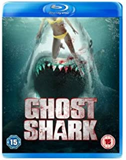 Ghost Shark with Limited Edition 3D Lenticular Sleeve[Blu-ray] [Reino Unido]