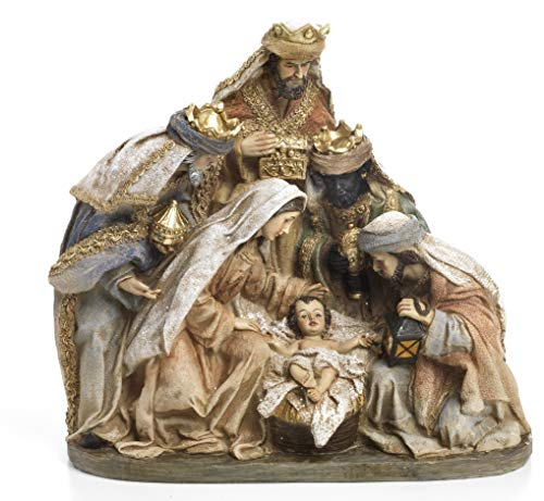 Paben Artículos religiosos Grupo Natividad Belén con Rey Magos de Re
