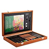 Derwent Academy 2300147 - Set de lápices de colores y lápices de grafito, 30 lápices y 5 accesorios