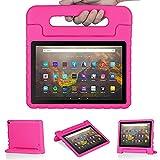 Foluu - Funda protectora para Kindle Fire HD 10/10 Plus (11 th generación), color rosa