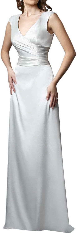 Avril Dress VNeck Ruched Wedding Formal Prom Dress Long for Women 2016 New