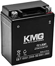 KMG YTX7L-BS Sealed Maintenace Free Battery High Performance 12V SMF OEM Replacement Maintenance Free Powersport Motorcycle ATV Scooter