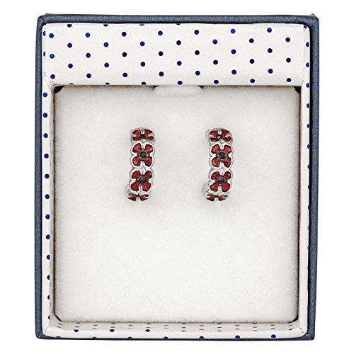Equilibrium Poppy Half Moon Earrings