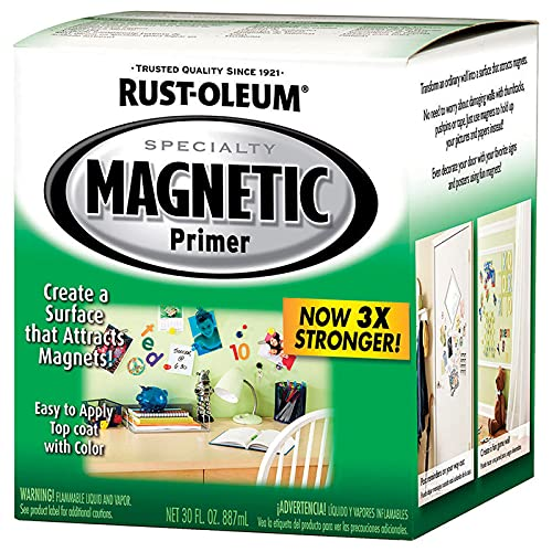 1 qt Rust-Oleum Brands 247596 Magnetic Specialty Magnetic Primer Pack of 1