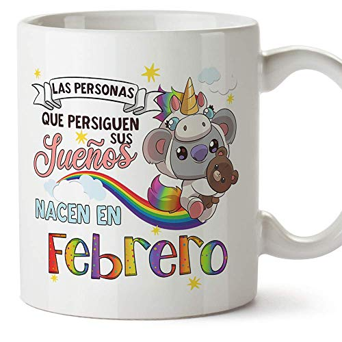 MUGFFINS Taza Cumpleaños Koala mes Febrero