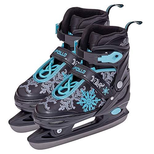 Apollo Ice Skates X Pro - verstellbare Schlittschuhe für Damen, Kinder und Jugendliche, schicke Eislaufschuhe, 3 Größen (31 bis 42)