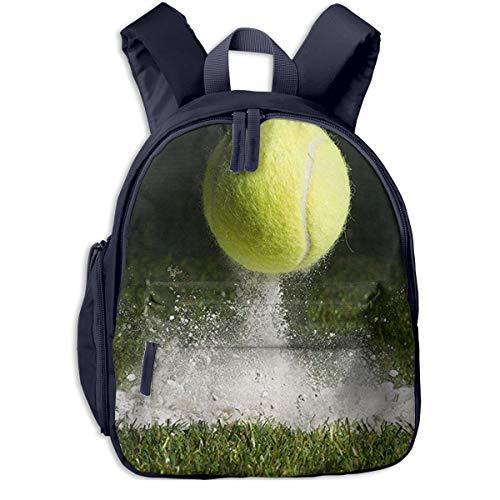 Mochila para Niños Cancha de Tenis en Wimbledon, Mochila Escuela Primaria de Edad Peso Ligero Pérdida Mochila de Viaje para Chico Chica