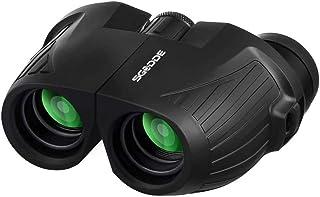 Jumelles Compactes 12X25, SGODDE Mini Jumelles avec Vision Nocturne Légères..