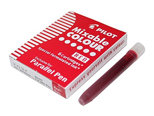Pilot - doos met 6 patronen, rood
