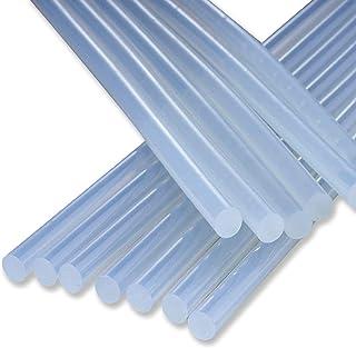 Bâtons de Colle Chaude, 25 Pièces Adhésif Hot Melt Thermofusible Transparents pour Pistolet à Colle Chaude 11mm, Travaux, ...