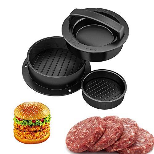 Setokayaハンバーガープレス DIY 肉プレス 調理器具 キッチン用品 ハンバーガーメーカー ミートプレス ABS製 HBY-01