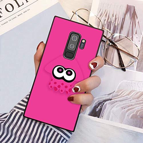 Squid Splatoon Pink Galaxy S9 Plus (2018) 6.2' Phone Case