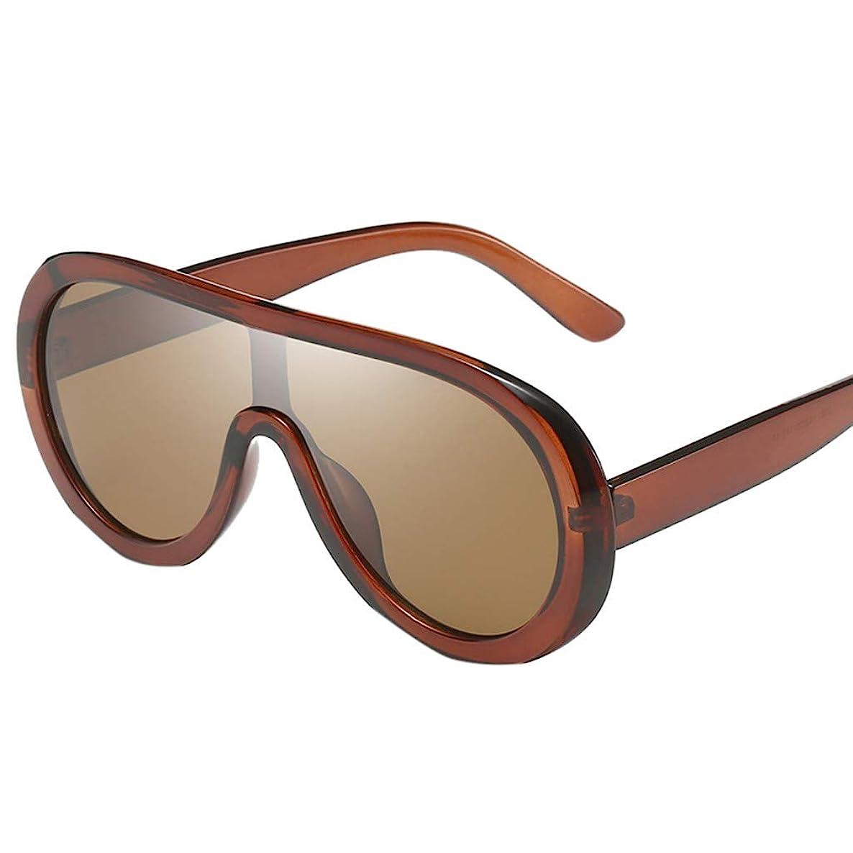 Gallity Cool Unisex Oversized Glasses,Punk Style Glasses Frame Retro Anti-UV Glasses (E) fdgh2478046508