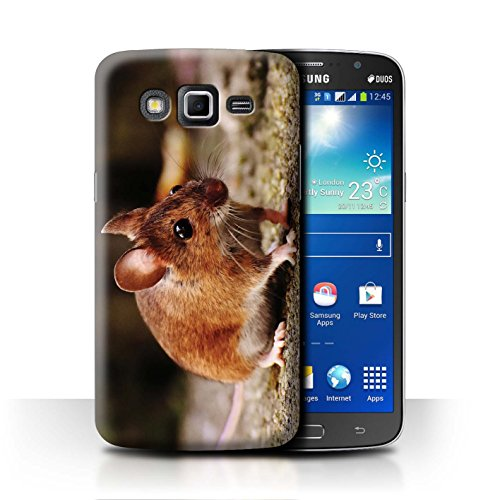 eSwish Carcasa/Funda Dura para el Samsung Galaxy Grand 2/G7102 / Serie: Lindos Animales de Compañía - Lirón/Ratón