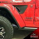 XPLORE OFFROAD - Jeep Wrangler Fender Vent Decals   JL 2018+ Gladiator 2020 (Original)