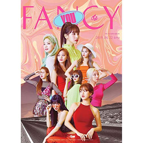 xiaoyamyi KPOP Twice New Album Fancy You Customized A3 Poster Star Wall Painting Small Art Painting 42 * 29,7 cm Hot Regalo para Fans para Home Decoration