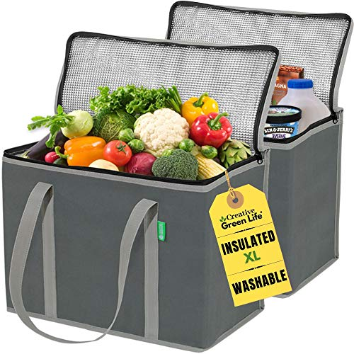 XL Insulated Shopping Bags for Groceries