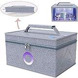 TQMB-A La esterilización UV pantano, USB Plegable teléfonos móviles Caja de desinfección, desinfectante multifunción Bog, para Biberón, Ropa Interior, Juguetes, Cepillo de Dientes