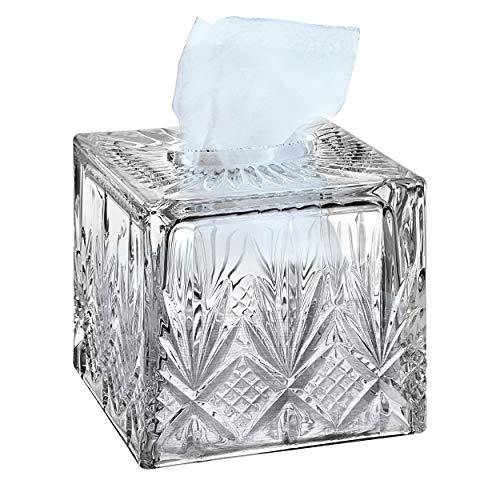 polished chrome tissue box cover - 7
