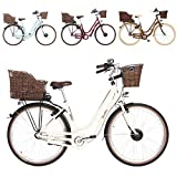 "FISCHER E-Bike Retro ER 1804 (2019), 28"", RH 48 cm, Vorderradmotor 20 Nm, 36 V Akku, 317 Wh"