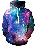 Unisex 3D Novelty Hoodies Graphic Patterns Print Galaxy Hoodies Pullover Sweatshirt Pockets