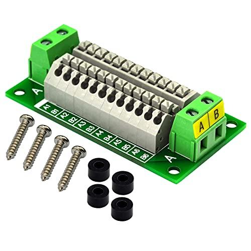 16Amp AC/DC 2x12 Position Terminal Block Distribution Module