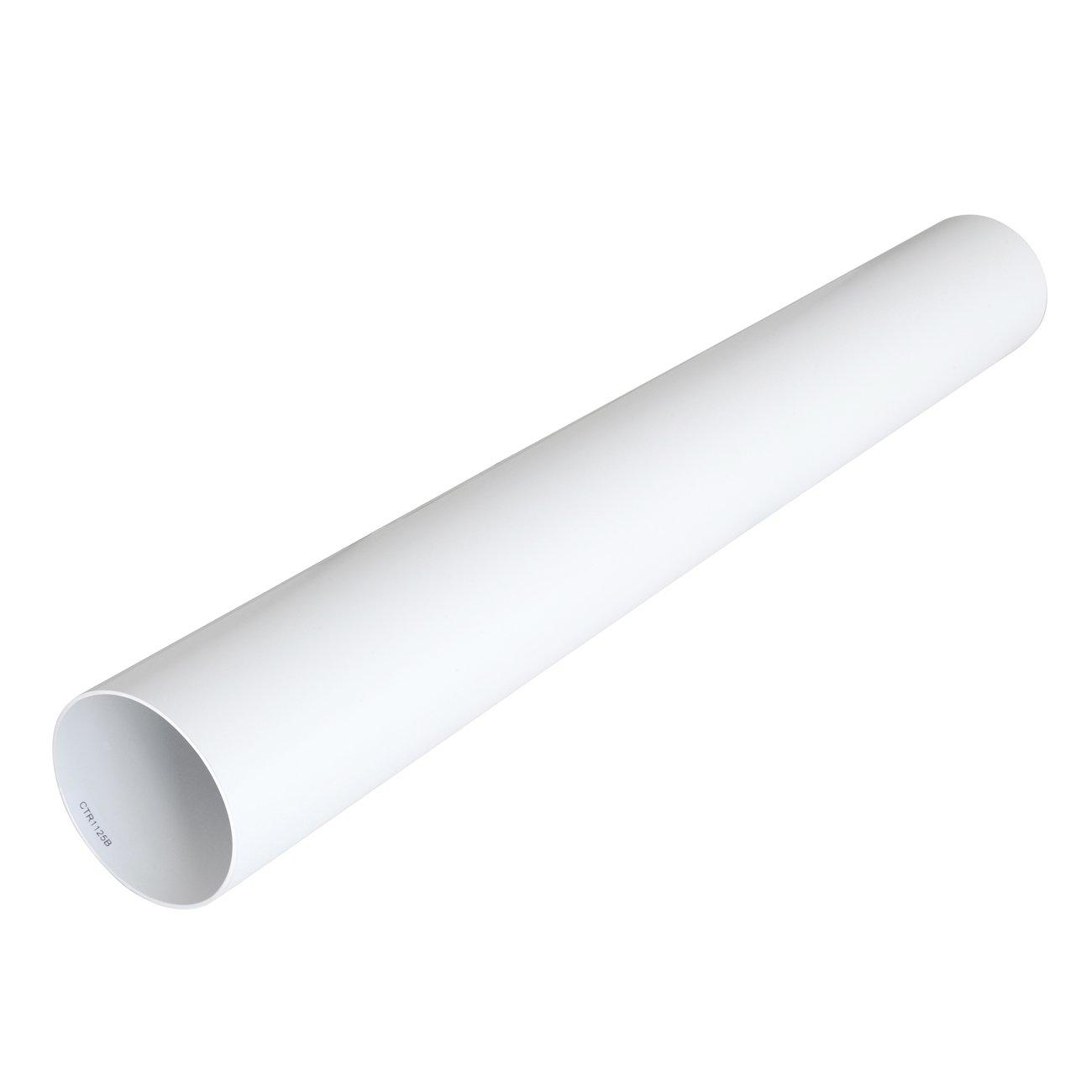 La ventilación ctr1125b Tubo para ventilación canalizzata redondo de PVC, diámetro 125 mm): Amazon.es: Bricolaje y herramientas