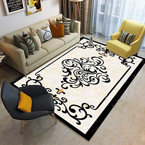 XIAOLEI Alfombra 170x240cm Superficie Suave Alfombra Salón Lavables habitación Dormitorio, SD-01