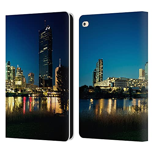 Head Case Designs Officially Licensed Simone Gatterwe Buildings Along River Vienna Leather Book Wallet Case Cover Compatible With Apple iPad Air 2 (2014)